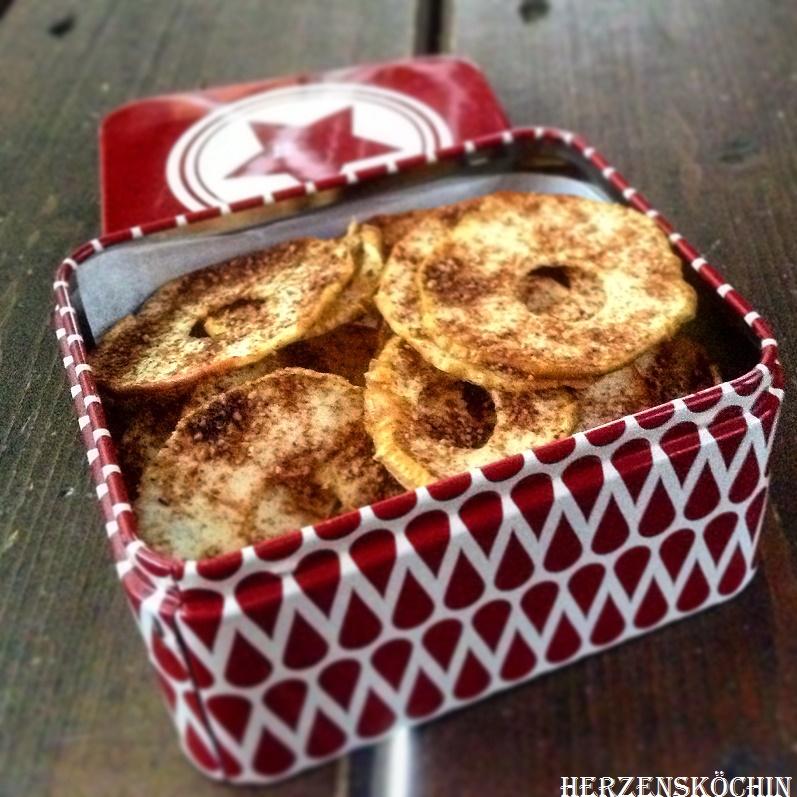 Bratapfel Chips