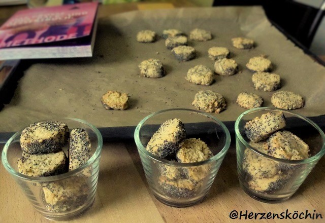Mohn-Cashewkerne-Cookies