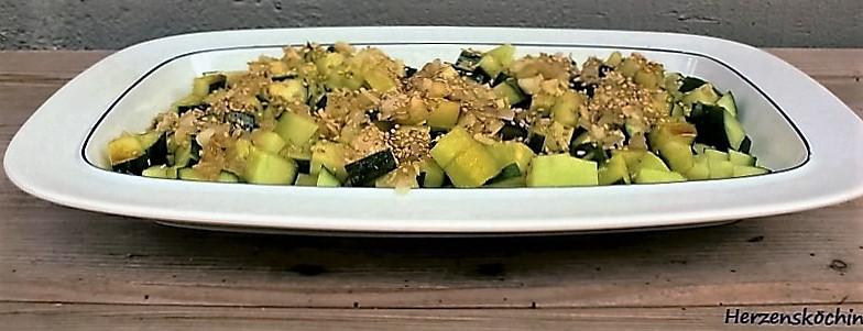 gurken sesam salat