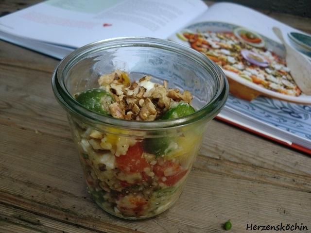 Hirse-Linsen-Salat