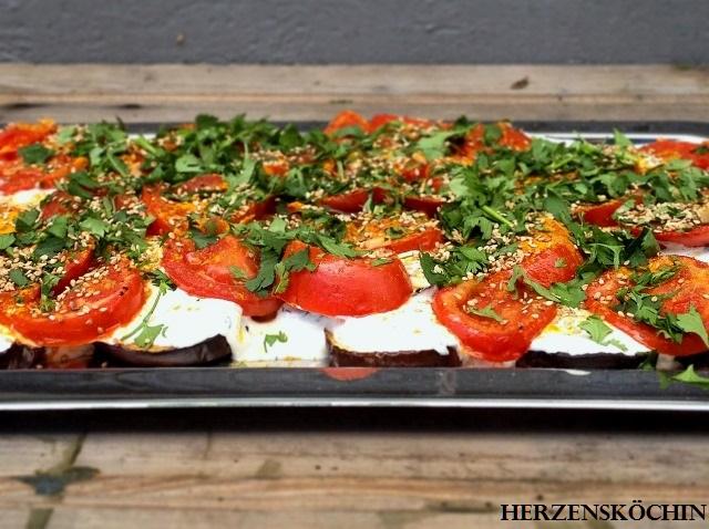 Türkischer Auberginensalat