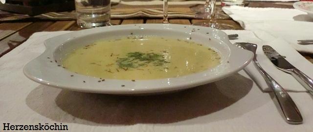 Fenchel Safran Suppe
