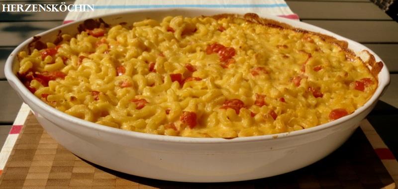 Macaroni und Cheese ein amerikanisches Nationalgericht