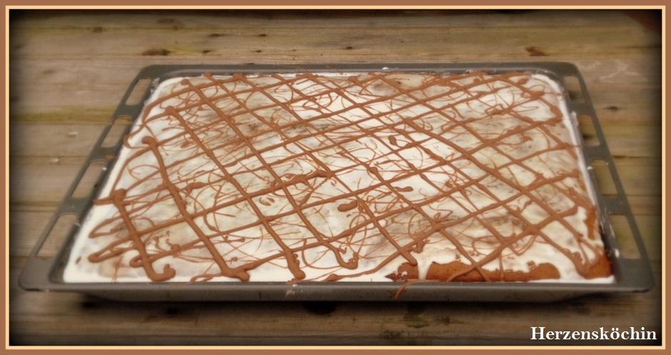 Lebkuchenwürfel mit Glasur