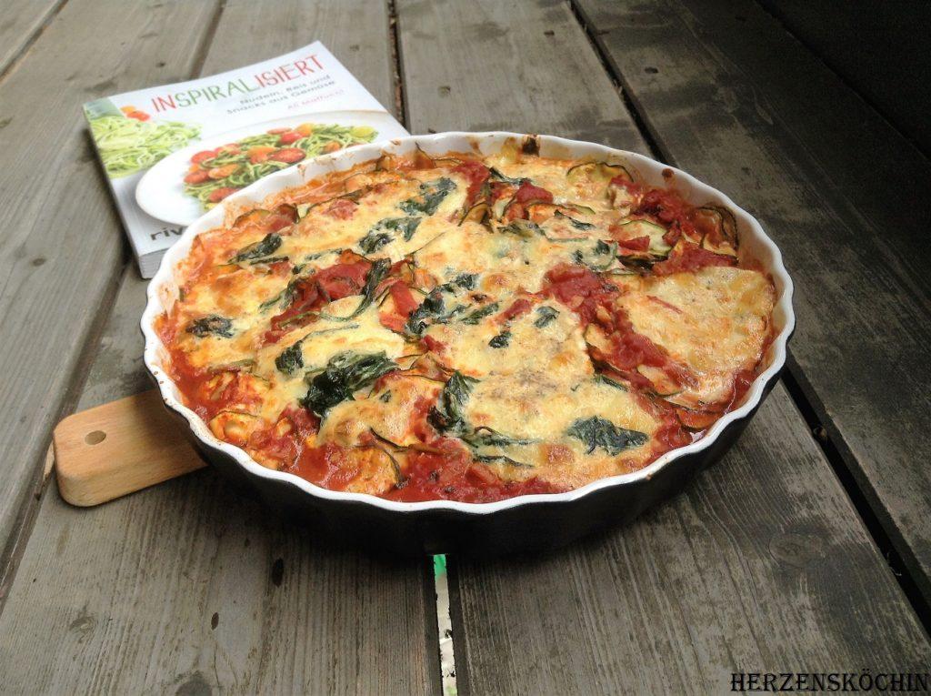 Zucchini-Manicotti Lowcarb