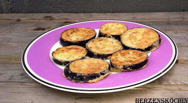 gebackene aubergine lowcarb