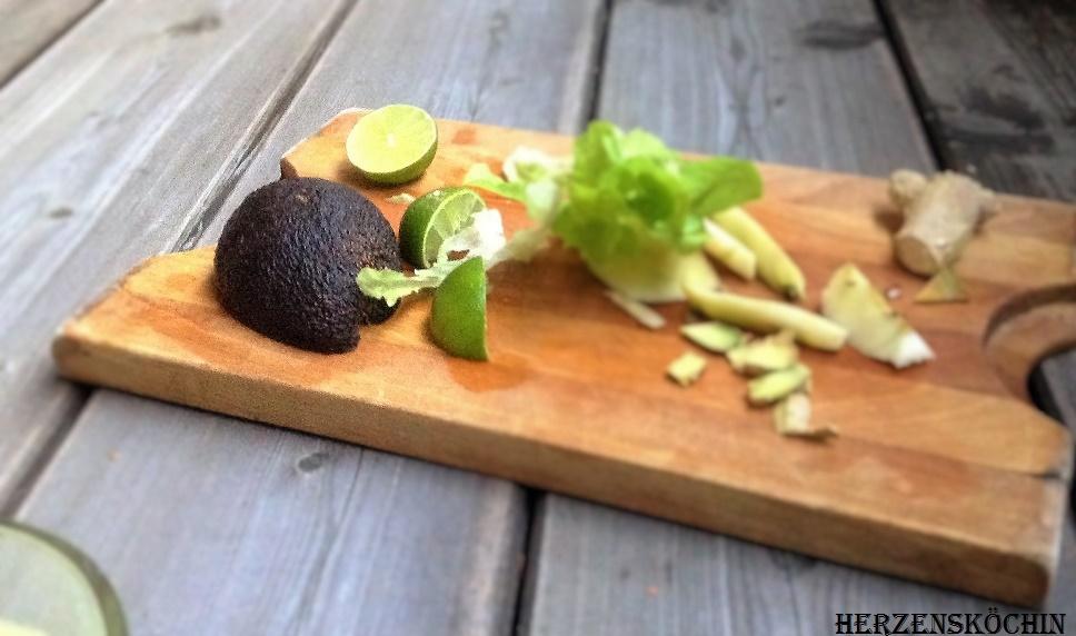 Avocado Ingwer Smoothie
