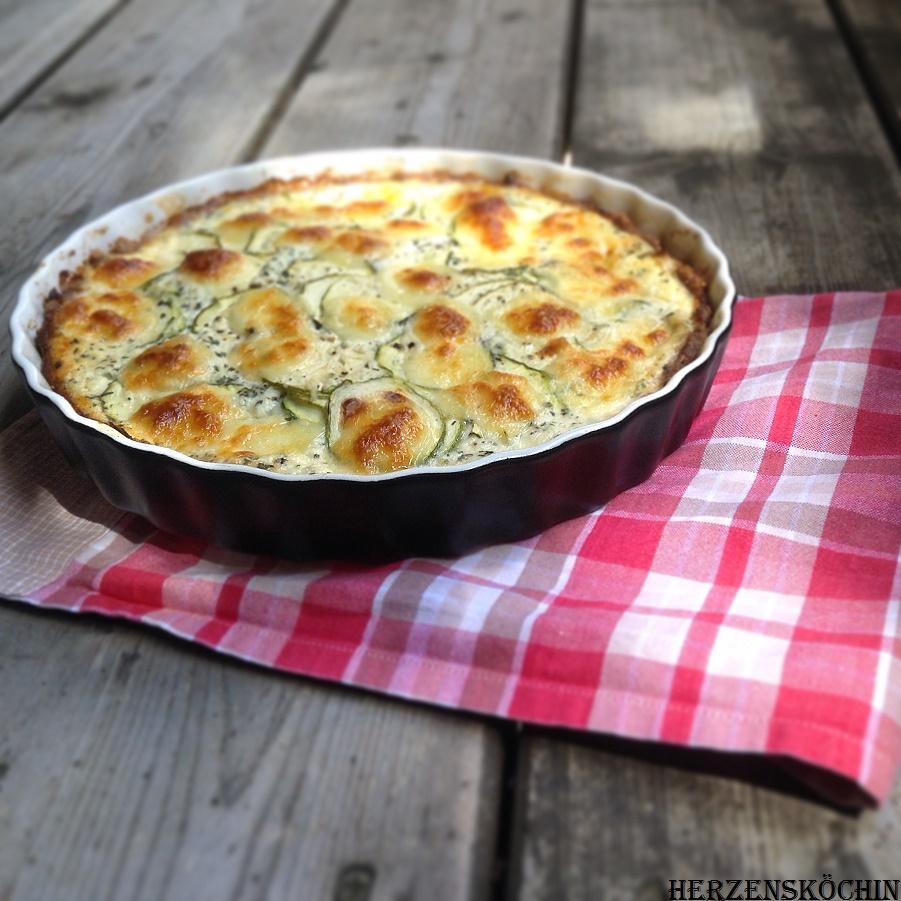 Low Carb Zucchini Tarte