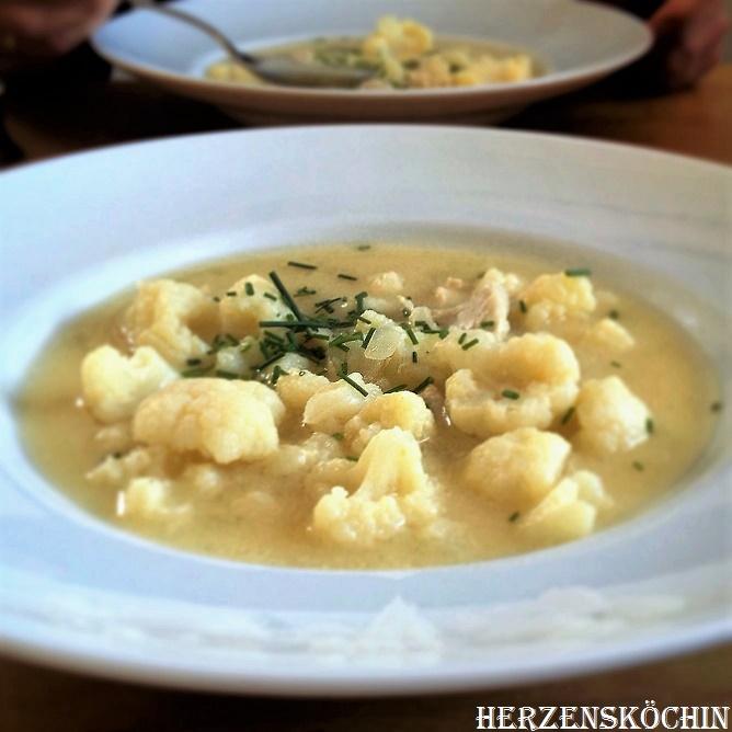 Hähnchen Zitronen Suppe