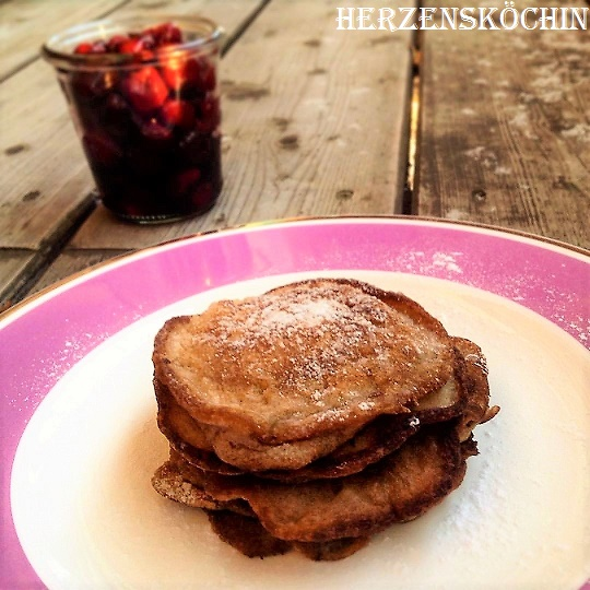 Low Carb Pancakes mit Zimt