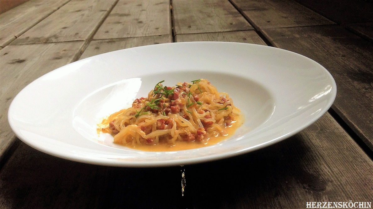 Low Carb Spaghett Carbonara