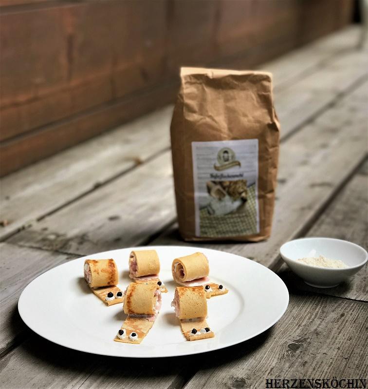 Pfannkuchen Schnecken