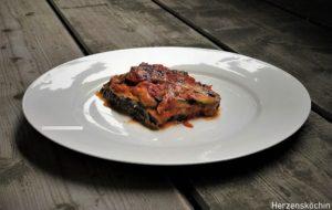 Zucchini Spinat Lasagne